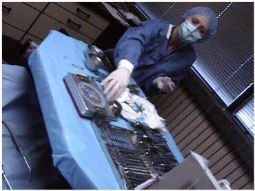 Sterile Drape Surgical Set-Up (2)